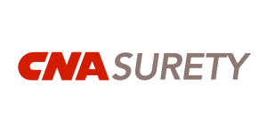 CNA Surety logo   Our carriers